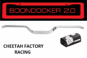 CHEETAH FACTORY RACING CFR BOONDOCKER 2.0 HANDLEBARS