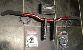 HOT ROD SLED SHOP ASSEMBLED HANDLEBAR PACKAGES