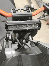 Hot Rod Sled Shop Inc. - Ski-doo CREE LED Handlebar Headlight KIT- CLICK TO ENLARGE
