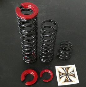 HOT ROD SLED SHOP INC. DUAL RATE FRONT END SPRING KIT FOR 2008-2017 Ski-doo MXZ, Renegade, Adrenaline & X models DUAL RATE FRONT SPRING KIT
