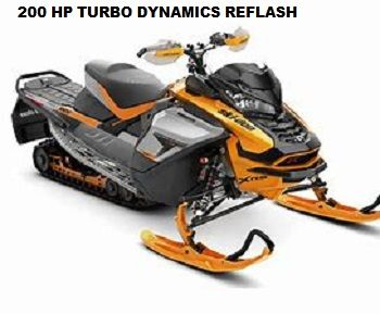 TURN KEY INSTALLED HOT ROD SLED SHOP SKI-DOO 900 TURBO PERFORMANCE PACKAGE with TURBO DYNAMICS 200HP FLASH