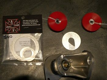 HOT ROD SLED SHOP SKI-DOO REV GEN4 MOTOR MOUNT UPGRADE KIT