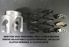 HOT ROD SLED SHOP SKI-DOO REV GEN4 2017-2020 MXZ 129 CLUTCH KIT