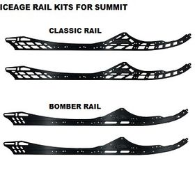 "ICEAGE RAIL KITS  165""  FOR SKI-DOO SUMMIT GEN4 2017-2021 X/ SP MODELS"
