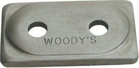 """Woody's Angled Double Backers 5/16"""""""
