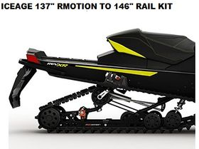 "ICEAGE RAIL KIT FOR 137"" RMOTION TO 146"""