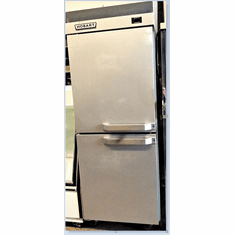 HOBART COMMERCIAL VERTICAL SPLIT 2 DOOR COOLER