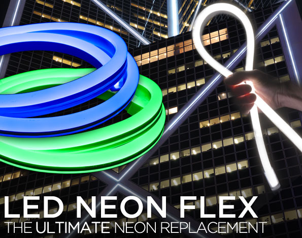 Flexible LED Neon Rope Light