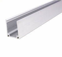 RGB LED Polar 2 Neon Flex Aluminum Channel - 3ft