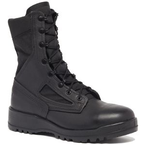 Belleville 390 TROP Men's Hot Weather Black Duty Boot