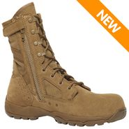 Tactical Research TR596 CT Guardian Side Zipper Composite Toe Coyote Brown Boot