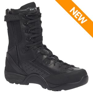 Tactical Research Men's QRF ALPHA B9Z1 Hot Weather Side Zipper Assault Boot w Polishable Toe