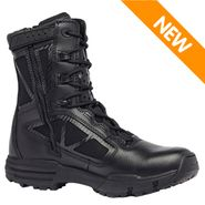 Tactical Research TR998Z WP CT Chrome Men's Side Zipper Waterproof Composite Toe 8in Uniform Boot
