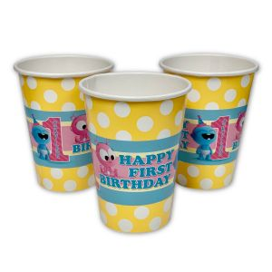 BabyFirst Baby Gaa Gaa Personalized Party Cups