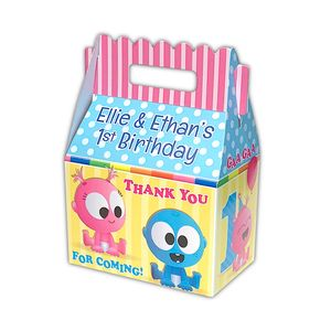 BabyFirst Baby Goo Goo & Gaa Gaa Party Personalized Gable Favor Box