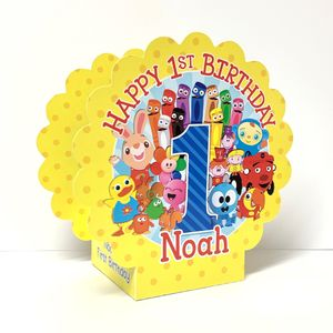 BabyFirst TV Favorites Party Pair of Personalized Mini Table Decorations