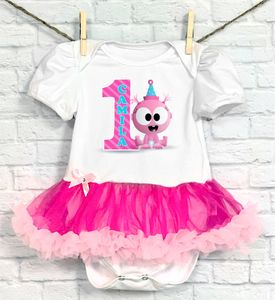 BabyFirst TV Baby Gaa Gaa Personalized Birthday Tutu Onesie