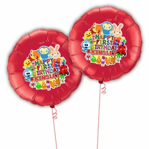 BabyFirst TV Personalized Mylar Party Balloons