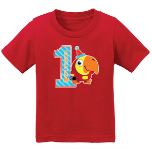 VocabuLarry Personalized Birthday Shirt