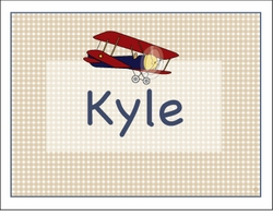 Biplane Note Cards