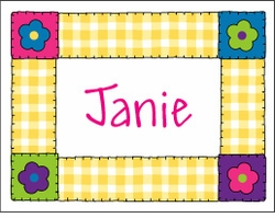 Blanket Stitch Quilt Note Cards