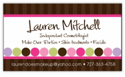 Chocolate Dots Business Cards