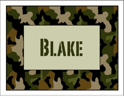 Cool Camo Note Cards