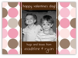 Disco Dots Valentine's Day Photo Card