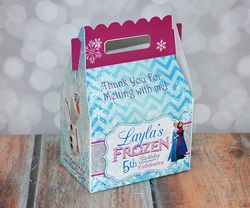Disney Frozen Party Gable Favor Box