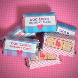 Doc McStuffins Personalized Hershey's� Miniatures Sticker Wraps