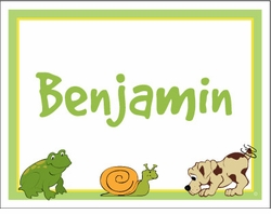 Frogs, Snails & Puppy Dog Tails Note Cards