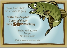 Funny Fish Invitation