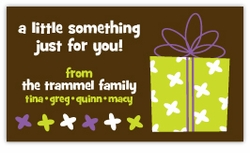 Gift for You Gift Enclosure Card