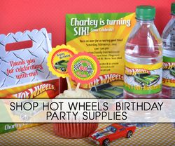 Hot Wheels Race Car Party Supplies