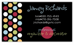 Metro Dots Business Cards
