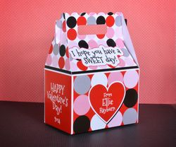 MetroDots Personalized<br>Valentine's Day Treat Box