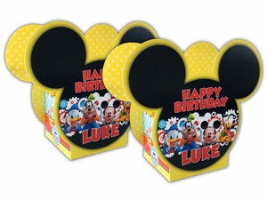 Mickey Mouse Clubhouse Personalized Mini Table Decorations