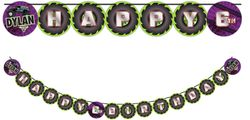 Monster Jam Grave Digger Monster Truck Party Banner