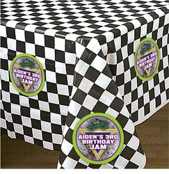 Monster Jam Grave Digger Party Table Cover