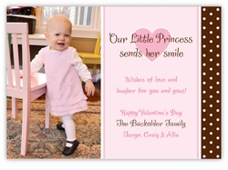 Pink Perfection Photo Valentine�s Day Card