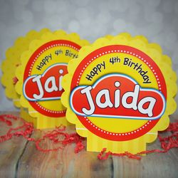 Play-Doh Personalized Table Decorations, Set of Two
