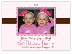 Pretty in Pink Photo Valentine�s Day Card