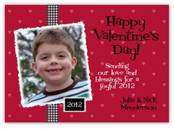 Scrapbook Lovers Photo Valentine�s Day Card