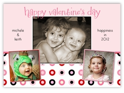 Silly Spots Valentine's Day Photo Card