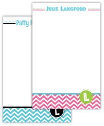 Nifty Chevron Note Pads for All the Ladies