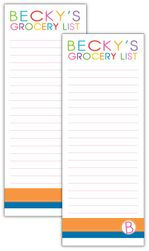 The Big Grocery List Note Pad Set