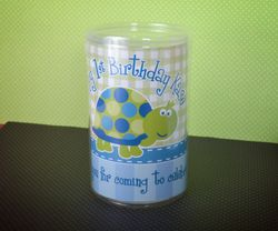 Turtle First Birthday<br>Candy Tubes