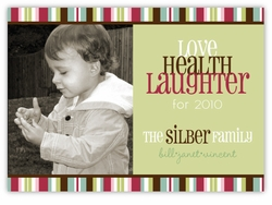 Vincent Stripe Photo Holiday Card