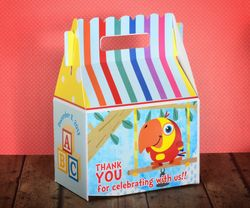 VocabuLarry ABC Personalized Gable Box Party Favor
