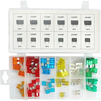 80 Pcs Car Fuse Assortment
